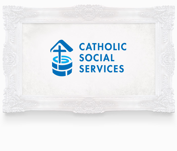 Catholic Social Services Logo Design