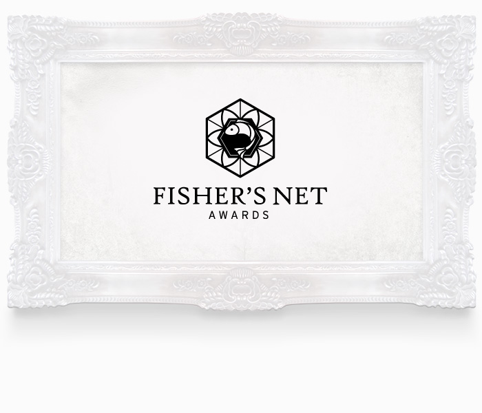 Fisher's Net Awards Logo Design