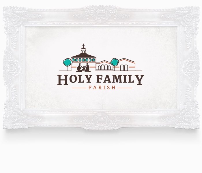 Holy Family Parish Logo Design