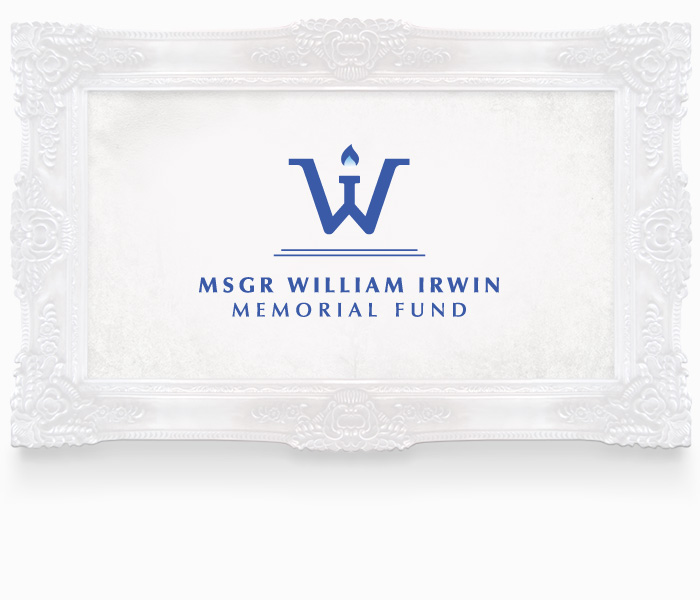 Msgr William Irwin Logo Design