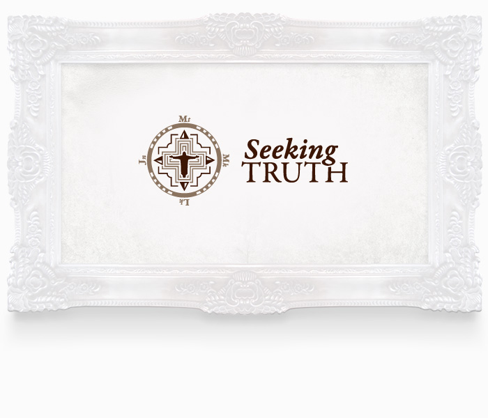 Seeking Truth Logo Design